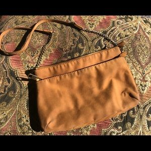 H&M suede purse